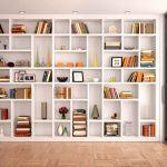 Nichos e prateleiras: ambientes decorados e organizados
