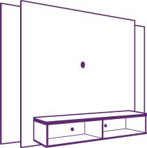 Montagem de Painel para TV Munique