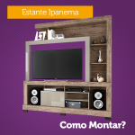 Como montar a Estante para TV Ipanema